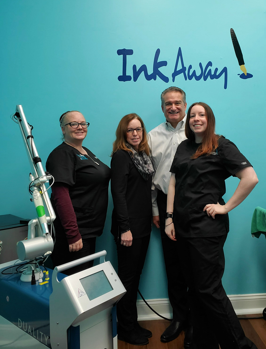 InkAway Laser Tattoo Removal Chadds Ford Paoli Pennsylvania Astanza Laser