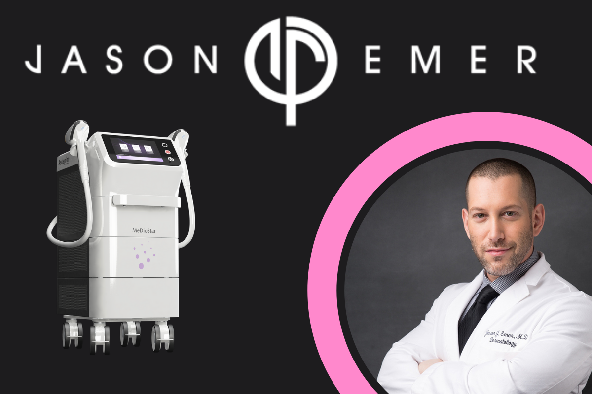 Dr. Jason Emer featured on Byrdie for Laser Hair Removal with the MeDioStar-1