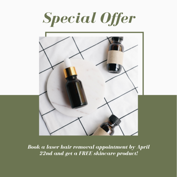 aesthetic laser discount example