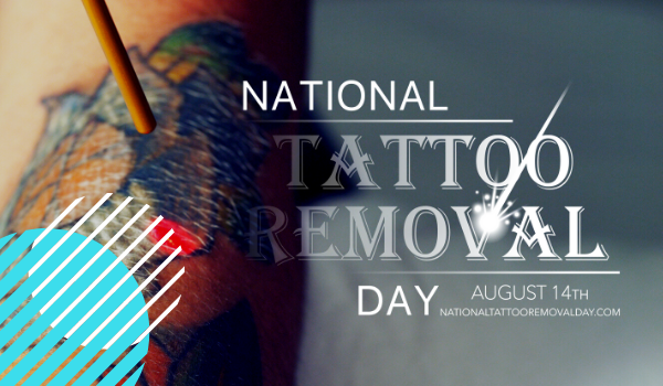 National Tattoo Removal Day #ChangingLives through Training, Free Treatments, and More on Third Anniversary!
