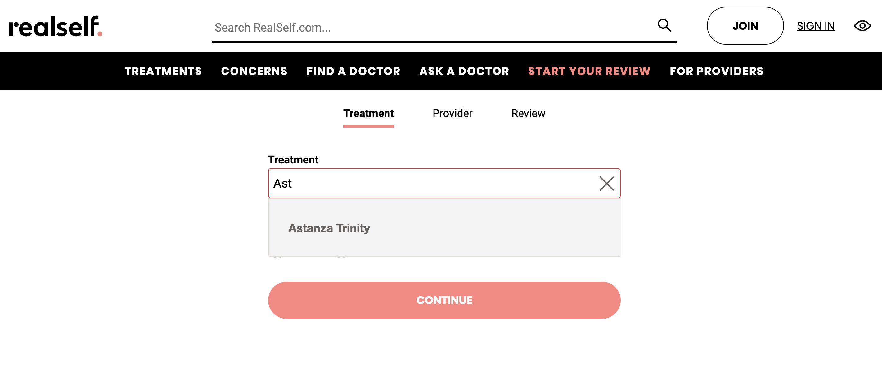 Astanza Trinity Treatment Page RealSelf