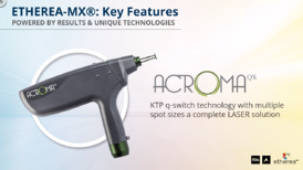 Portable Tattoo Removal Laser - The Acroma Handpiece / Etherea MX