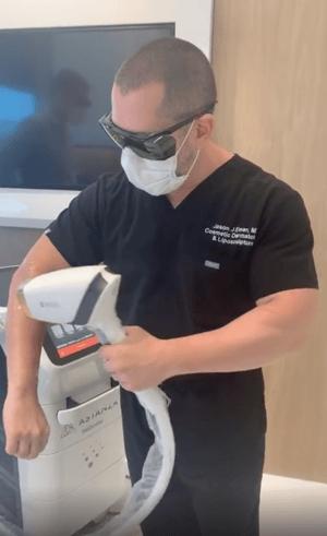 Dr. Jason Emer Astanza MeDioStar Laser Hair Removal