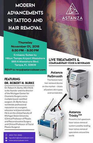 Dr. Robert H. Burke Presents Modern Advancements in Tattoo and Hair ...
