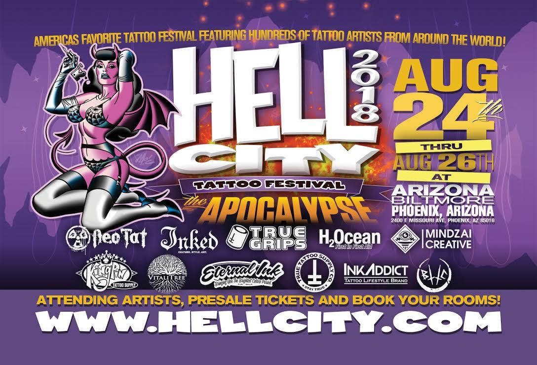 Hell City Tattoo Festival Phoenix Arizona Laser Tattoo Removal Astanza